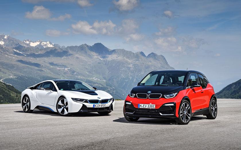 BMW i-Family i3 i8