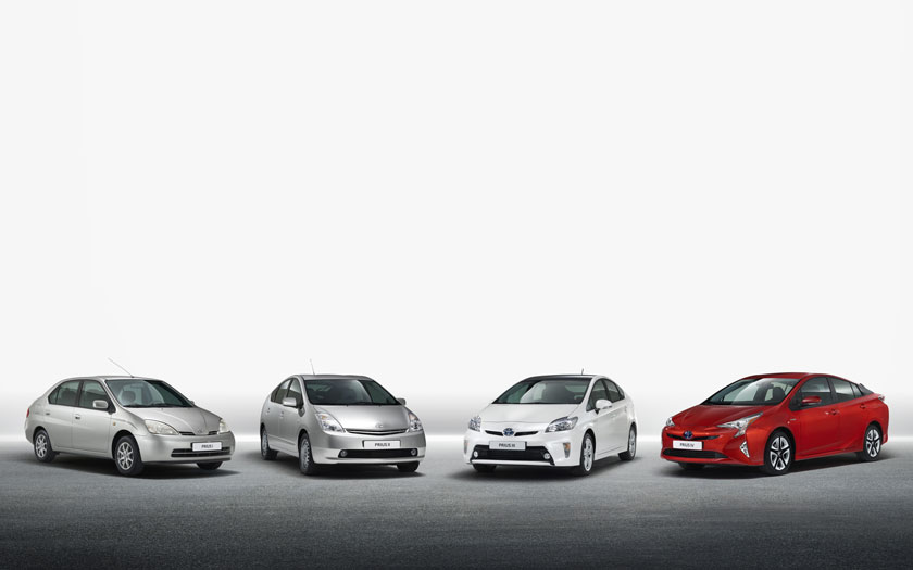 Toyota Prius Family Hybrid Cars